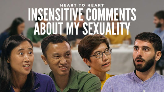 Insensitive comments sexuality